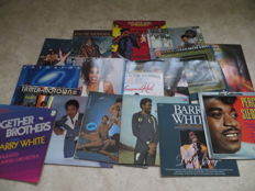 Funk / Soul - Various Artists - lot of seventeen  (17) LP's