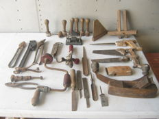 Carpentry work tools, industrial offices or tinsmith