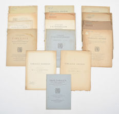 Auction catalogues; Lot with 14 editions - 1900/1925