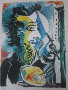 Pablo Picasso (after) - The Artist