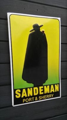 Legendary SANDEMAN Port & Sherry - 60s - Vintage