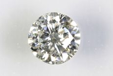 0.20 ct – Brilliant-cut diamond –  J,  I1  NO RESERVE PRICE