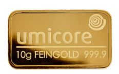 10 grams gold bar Umicore