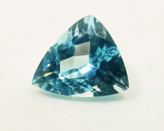 Topaz Swiss Blue  - 6,27  ct - No Reserve Price