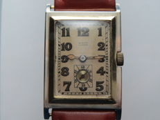 Burger – Lucerna – Men's wristwatch – 1940-1950s – gold