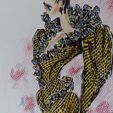 Fashion drawings, sketches and prints