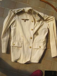 Third Reich white jacket of the Navy