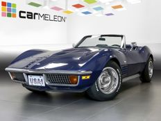 Corvette - C3 convertible - 1972 350 CUI hardtop and H acceptance