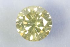 Diamond – 0.51 ct – Light Yellow – No Reserve Price