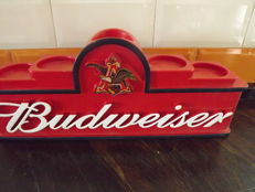 Stand for beer bottels  Budweiser