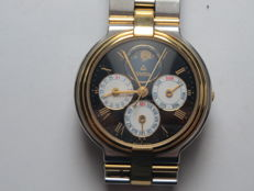Vetta – Men's wristwatch – 1990s – Steel and gold