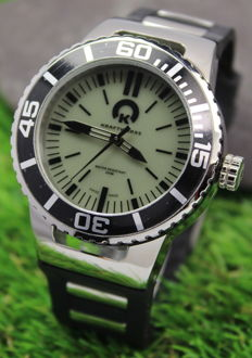 Kraftworkxs Phantom KW-D200-15BK1 - Swiss Made Mens Diving Watch - New & Mint Condition