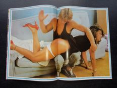"BDSM; lot with 24 issues of the Belgian magazine ""Whip""-1980/1990"