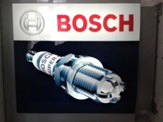 Neon BOSCH. Company logo. Bosch Advertising - double sided. Universal/Not used - Year ca. 2015/16.