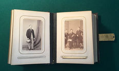 Original portrait photo album, ca. 1890 Vienna