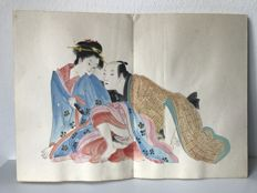 Japanese style Erotic Album - Asia - late 20th century