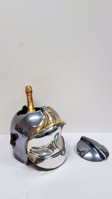 Wine cooler in the shape of a fire brigade helmet - Sapeurs Pompiers de Paris