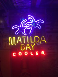Old neon lighting Matilda Bay