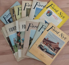 Ford Nyt magazines from Denmark