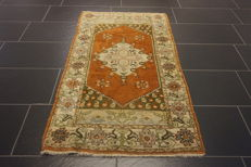 Beautiful, antique hand-woven, Oriental carpet - Turkey - Anatolia - 82 x 140 old rug - wool on wool carpet Tappeto Tapis