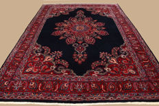 Handwoven Persian carpet Meshed approx. 347 x 257cm