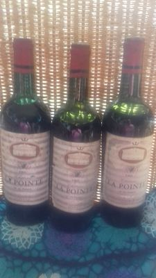 1966 Chateau la Pointe, - 3 bottles
