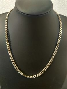 Silver necklace 925k, length 54 cm, width 5 mm, weight 46 grams