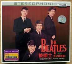 "Beatles: ""Englands no. 1 vocal group"" 2004  Never Seen double cd SACD in cardboard slipcase."