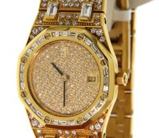 Audemars Piguet - Extremely Luxurious and beautifull set with diamonds n°4008 - (our internal #5288)