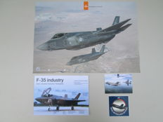 Lot of 13 Royal Air Force-Solo Display teams-F-35B Joint Strike Fighter, Posters