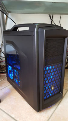 Gaming PC incl les Samsung screen  -Intel i7 950 3,07Ghx -24GB RAM G- SKILL GAMING -Liquid Cooling CORSAIR H80i