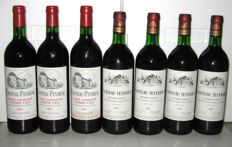 1981  3 x Chateau  Peyreau Saint Emilion Grand Cru - 4 x 1981 Chateau Teyssier Saint Emilion Grand Cru - total 7 bottles