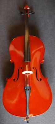 New Cello 4/4 adult size with cover and bow
