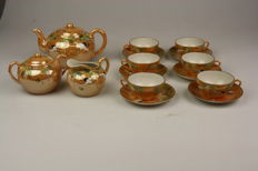 Graceful Japanese tea set for 6 people