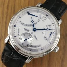 Maurice Lacroix — Maurice Lacroix - Master Piece Retrograde Calendrier- Like New - Men's Watch — mp6198 — Hombre — 2011 - actualidad