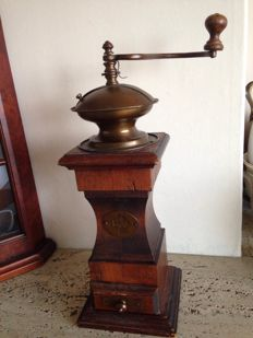 WJ art deco coffee grinder