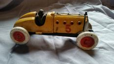 Large, cast-iron racing-car, second half of 20th century