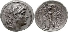 Greek Antiquity - Seleucid Kingdom, Antiochus VII, AR Tetradrachm 138 - 129 BC