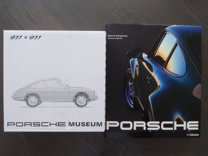 Books; Lot of 2 Porsche Car Books - 2007/2016
