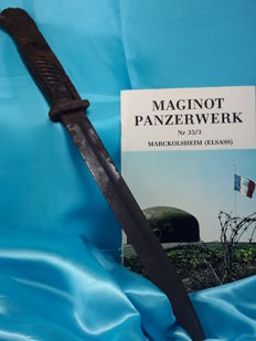 Germany - Antike German Bayonet K98 found on battlefield close to Maginot Line