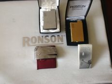 3 beautiful Ronson lighters.