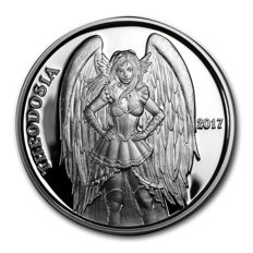 USA - Angels and Demons - Theodosia 2017 - 1 oz silver - proof - edition of only 2500 pieces