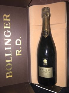 1997 Bollinger R.D. Extra Brut Champagne - 1 bottle (75cl) in box