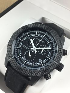 Nautica NST 1 chronograph black NAI17520G – Men's watch