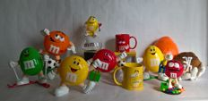 Very large collection of M&M's Collectable Characters - Collectors items M&M - 1991 / 2013