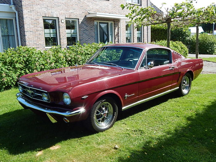 Ford - Mustang fastback - 1965