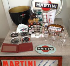 Lot of Martini collectibles 1950/2010
