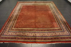 Magnificent hand-knotted Persian carpet Sarouk Mir, 240 x 280cm, made in Iran of best highland wool