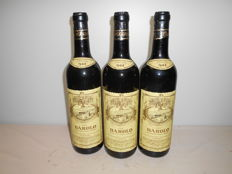 "1964  Scanavino Barolo Doc ""Cascina Zoccolaio""    - 3 bottles (72cl)"