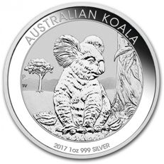 Australia - Koala 2017 - Beautiful silver coin - Great investment!